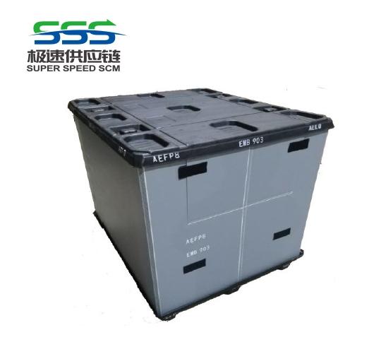 天津塑料围板箱结构