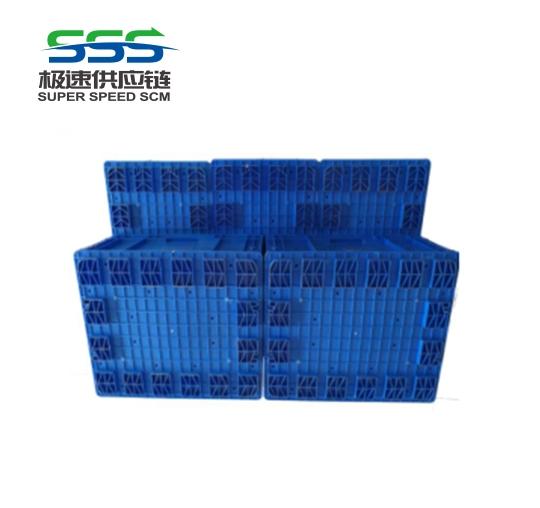 塑料周转箱底部堆码